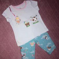 Pijama - 3 a 6 meses - Alphabeto