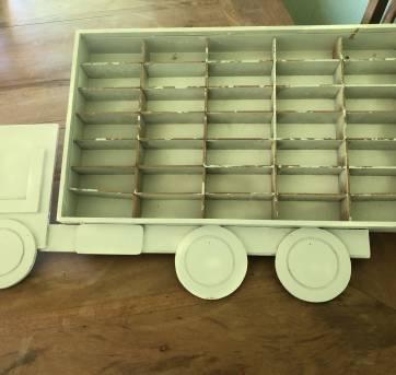 Porta carrinhos hot whells de parede - Sem faixa etaria - MDF
