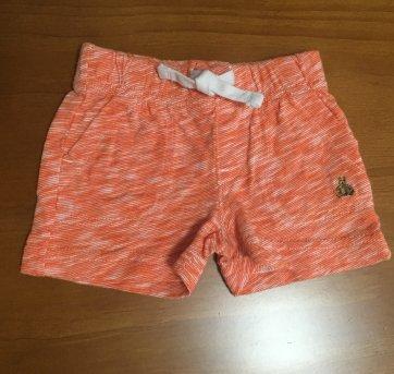 P603 Short Gap laranja - 3 a 6 meses - GAP
