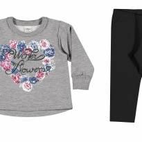 21781 conjunto legging e blusão G - 9 a 12 meses - Elian