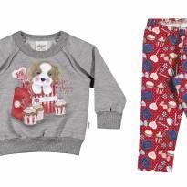 21780 Conjunto legging e blusão G - 9 a 12 meses - Elian