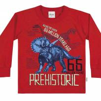 22761 Camiseta dinossauros tam 1 - 1 ano - Elian