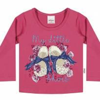 21770 Camiseta sapatinhos M - 6 a 9 meses - Elian