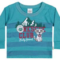 20570 Camiseta rescue club tam 3 - 3 anos - Elian