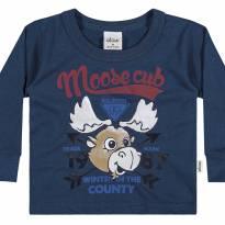 20572 camiseta Moose Club tam 1 - 1 ano - Elian