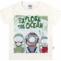 22836 Camiseta Explore the Ocean tam 8 - 8 anos - Elian