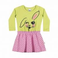 Vestido Coelhinha tam 3 - 3 anos - Elian