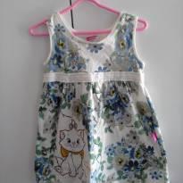 vestido lindo da  gatinha  Marie - 9 a 12 meses - Disney