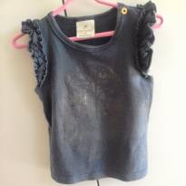 blusinha estilosa - 6 a 9 meses - Up Baby