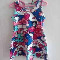 vestido gatinha - 1 ano - Malwee