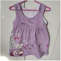vestido lilás - 2 anos - Não informada