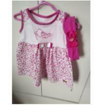 vestido  lindo - 3 a 6 meses - La Mayara