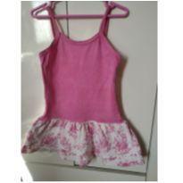 vestido Rosa lindo - 3 anos - Luanci