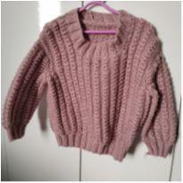 casaquinho tricô - 2 anos - Artesanal