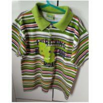 blusa menino listrada - 6 anos - Não informada