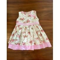 Vestido Floral - 1 ano - Turma mixirica