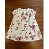 Vestido de Linho Zara - 6 a 9 meses - Zara