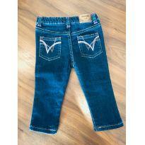 Calça Jeans Wrangler - 6 a 9 meses - Wrangler
