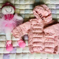 Casaco Rosê com capuz - 3 a 6 meses - Teddy Boom