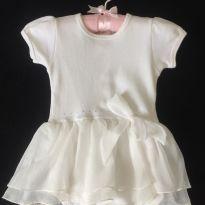 Vestido / Body estilo Bailarina - 1 ano - Baby fashion