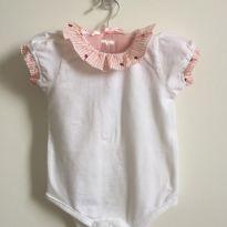 Body babado - Zippy - 6 a 9 meses - Zippy baby