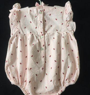 Macaquinho Balonê Joaninhas - Zippy - 6 a 9 meses - Zippy baby