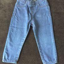calça jeans azulão - 1 ano - sem etiqueta