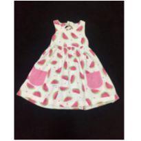 Vestido Melancia! - 3 a 6 meses - Baby fashion