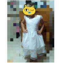 Vestido de dama de honra. - 5 anos - Não informada