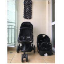 Carrinho Mobi Travel System Safety 1st + colchãozinho para carrinho Clingo -  - Safety 1st
