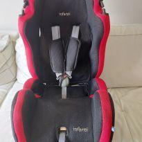 Cadeira INFANTI para carro Infanti Star Comfort N106 - PRETA E VERMELHA UNISSEX -  - Infanti