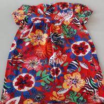 Vestido Colorido - 1 ano - Zig Zig Zaa