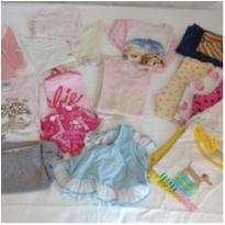 Kit pijamas - 3 anos - Variadas