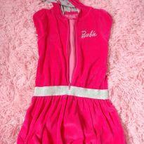 Vestido Barbie - 6 anos - C&A