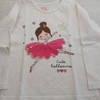 Blusa bailarina - 4 anos - T e K