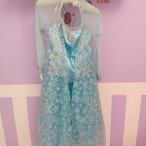Vestido Luxo Elsa Disney - 10 anos - Disney