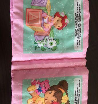 LIVRINHO INFANTIL TECIDO - Sem faixa etaria - Livros infantis