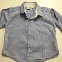 Camisa Social - 6 a 9 meses - Noruega Baby