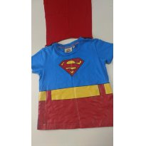 Camiseta Superman - 2 anos - DC Comics