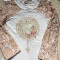 Camiseta tamanho 4 Carinhoso - 4 anos - Carinhoso