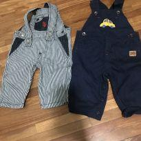 Kit com 2 macacões 3 a 6 meses - 3 a 6 meses - The Children`s Place e US Polo Assn