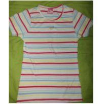 Camiseta listradinha Lilica - 10 anos - Lilica Ripilica