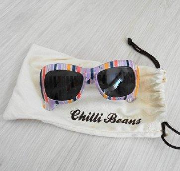 bfadfaf51 Óculos Chilli Beans listras no Ficou Pequeno - Desapegos de ...