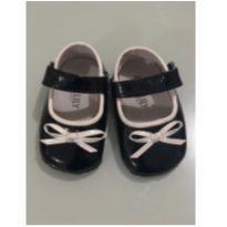 Sapato de Verniz Preto e Branco - 14 - Jack & Lily