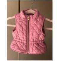 Colete Rosa Old Navy - 0 a 3 meses - Old Navy