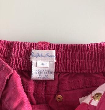 Calça Sarja Ralph Lauren - 6 meses - Ralph Lauren