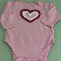 Body Coração - 3 meses - Jumping Beans