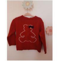 Suéter ursinho - 2 anos - Paola Da Vinci e Paola BimBi