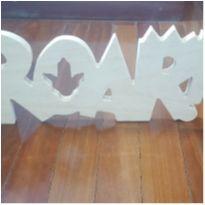 ROAR - decoração dinossauro -  - Artesanal