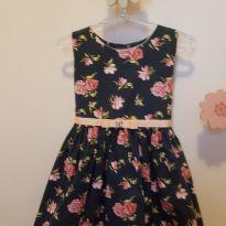 Vestido floral - 2 anos - Turma mixirica